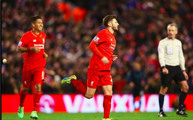 (Video) Lallana shows fantastic footwork to put the Reds ahead
