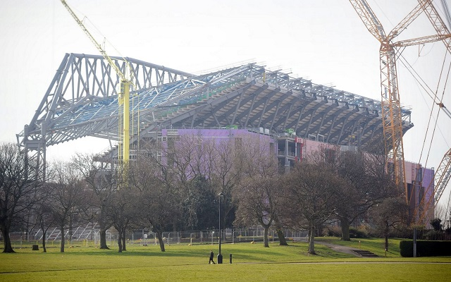 (Video) Liverpool release stunning drone footage of new stand progress