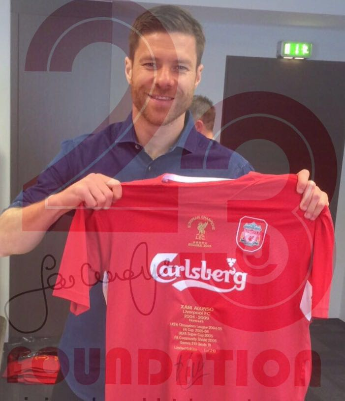 Xabi Alonso Limited Edition signed Honours Shirt – Only 210 made