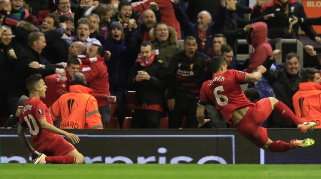 (Image) The picture that sums up Dejan Lovren's epic Liverpool transformation