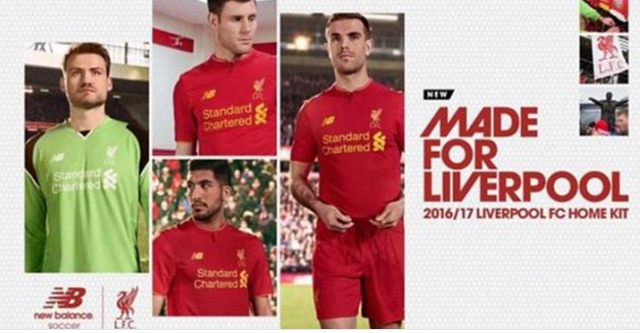 (Image) New Liverpool kit has secret message written on inside