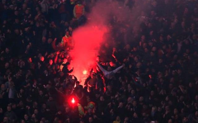Dortmund Police beg travelling Liverpool fans not to bring fireworks to Westfalenstadion
