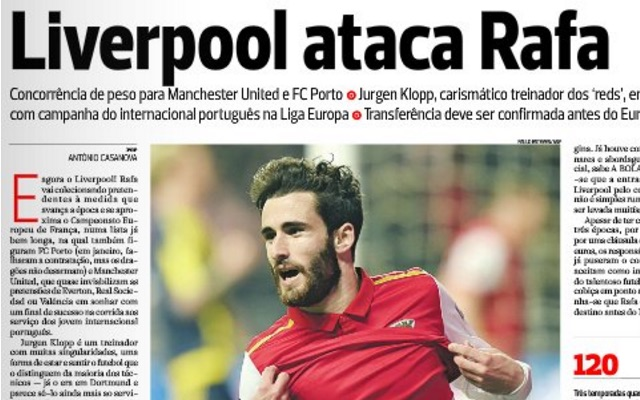 Rafa Silva's agent says he's 'working towards' transfer, following Liverpool offer
