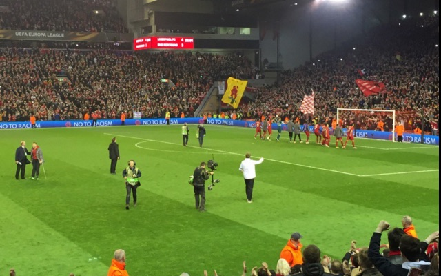 (Image) Check out what Liverpool fan found on his phone after losing it at Anfield last night…