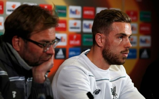 Jordan Henderson explains how his role is different this season under Klopp