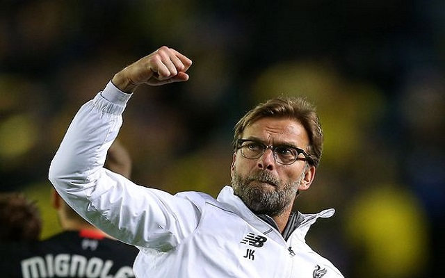 Klopp admits Fleetwood friendly is the first time he's seen new signing with his own eyes