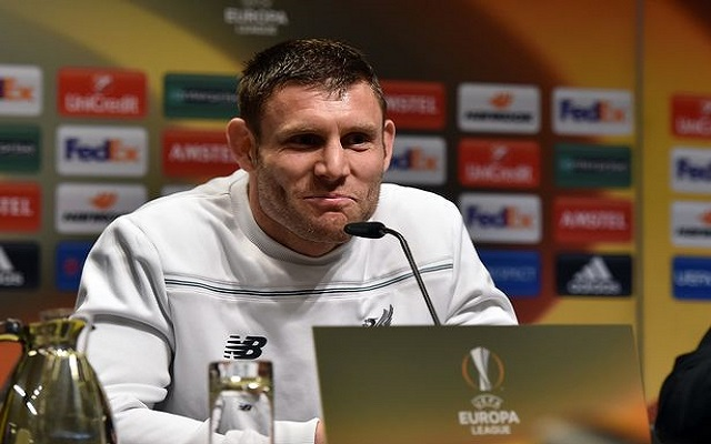 James Milner says Reds will go for the away goal and not sit back