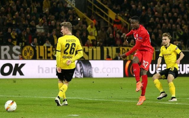 """Mignolet hails his """"fearless"""" compatriot after Dortmund goal"""