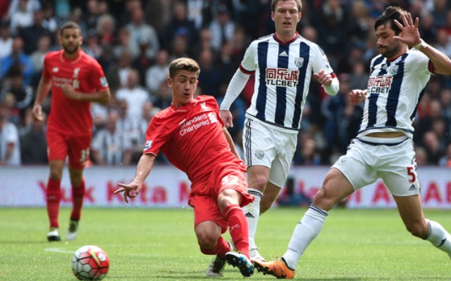 (Video) Liverpool mascot hilariously snubs West Brom handshake