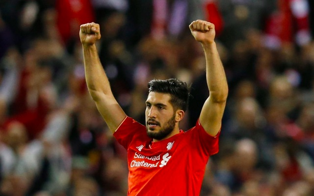 (Video) Emre Can accidentally nails the bottle flip mid match for Liverpool