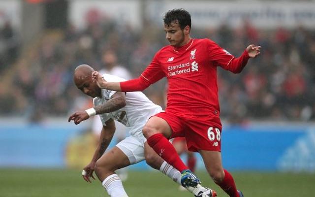 Pedro Chirivella Liverpool v Swansea