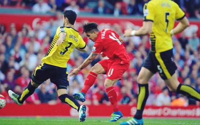 (Video) Firmino shows pure class with individual goal, but Ojo's pressing creates chance