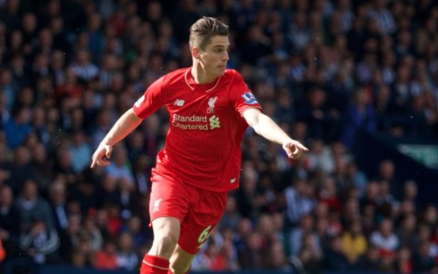 Relegated Premier League side lining up offer for want-away Liverpool midfielder