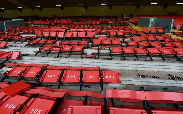 (Images) Anfield seats ripped out as Main Stand demolition begins