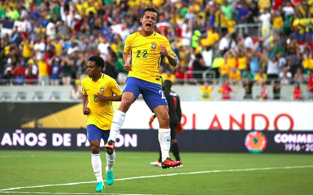 Expected Brazil XI: Coutinho on right-wing in scintillating front-three