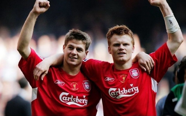 Riise's favourite LFC XI includes surprise no.10