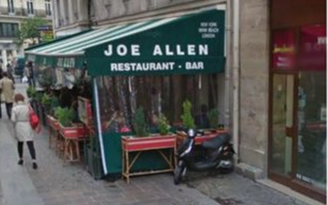 Video: Restaurant in Paris called Joe Allen, because what else would you call it?