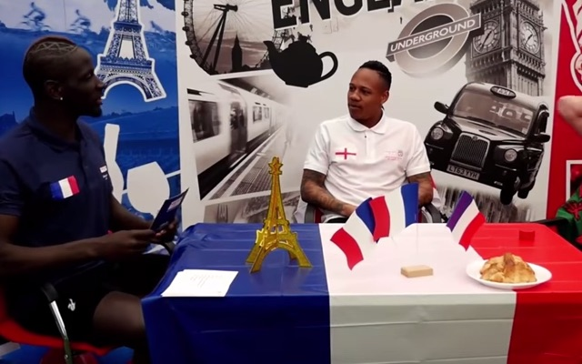 Sakho finally appears; Mama in great spirits as quizmaster for Euro 2016 test of wits