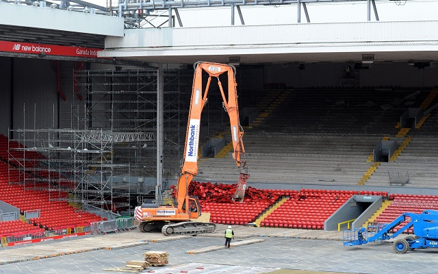 Ian Ayre explains why FSG opted to redevelop Anfield rather than build a new stadium