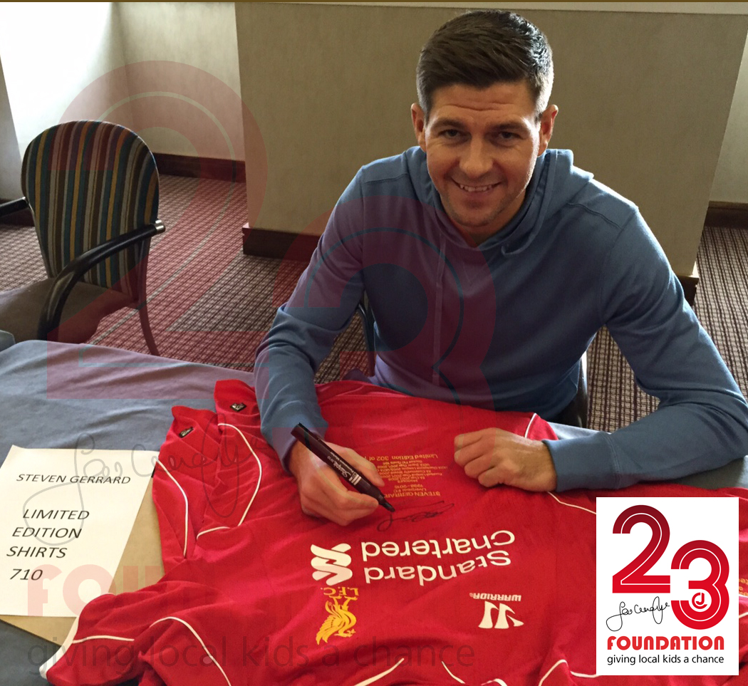 Steven Gerrard and Xabi Alonso Honours shirts available