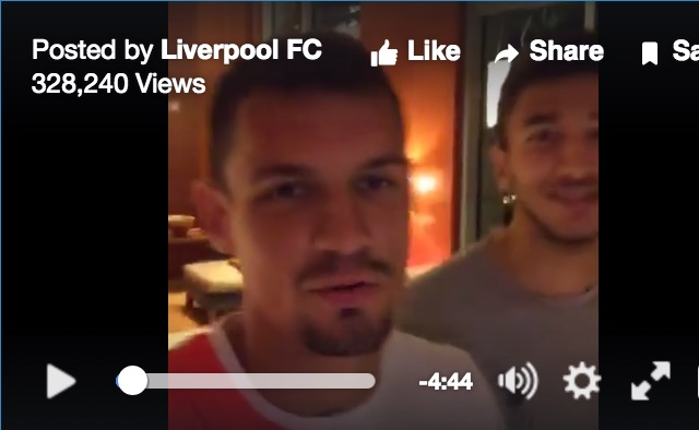 (Video) Lovren & Grujic team up to provide tour of Liverpool hotel