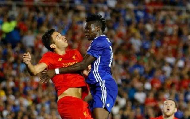 (Video) The incident which saw Marko Grujic sent to hospital during Liverpool v Chelsea