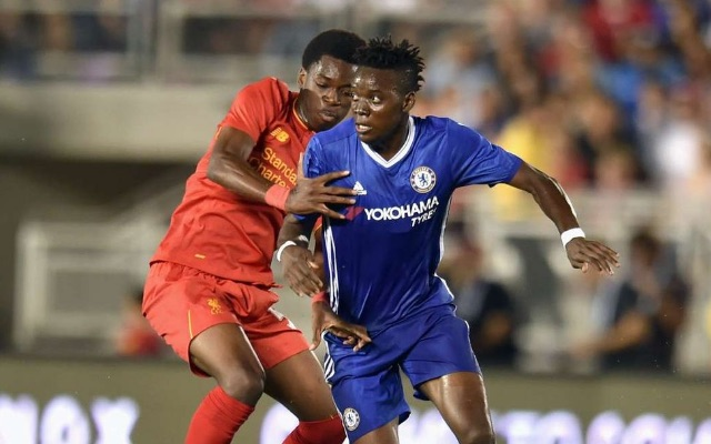 (Video) Ovie Ejaria almost got a wonder-assist for Liverpool v Chelsea