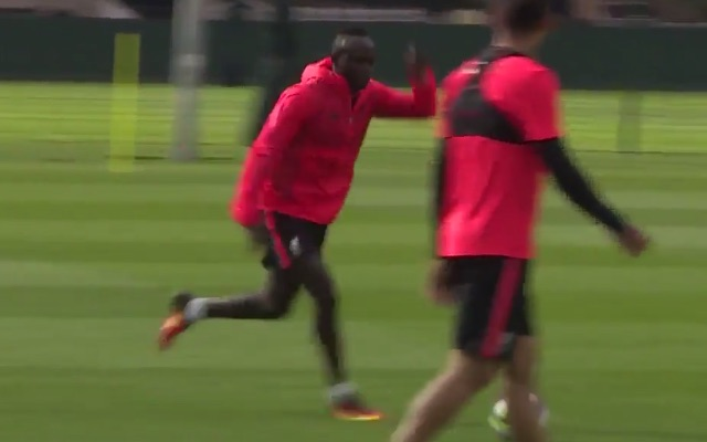 Liverpool defender astonished by Sadio Mane in training