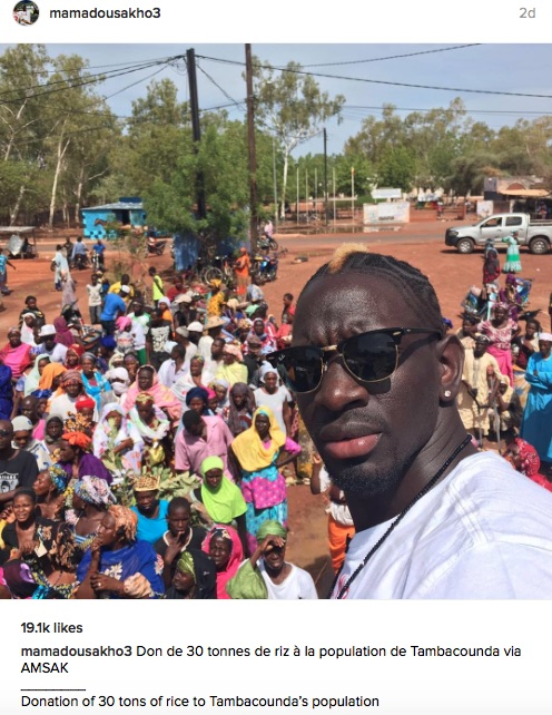 Mamadou Sakho Instagram