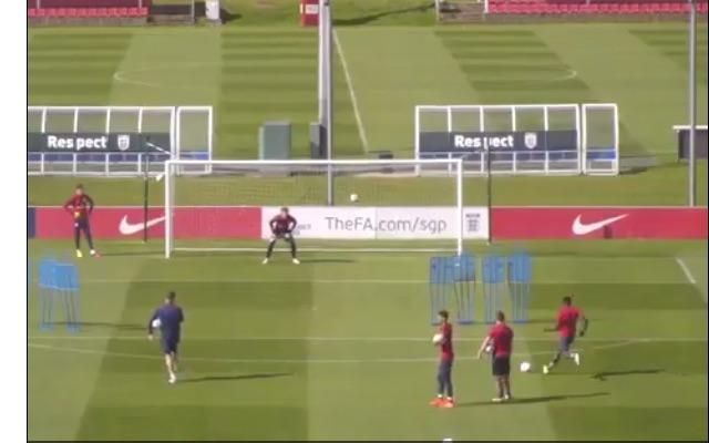 (Video) Sheyi Ojo hits left-footed free-kicks like Ronaldo & Bale; Watch wonderkid fire in practice attempts