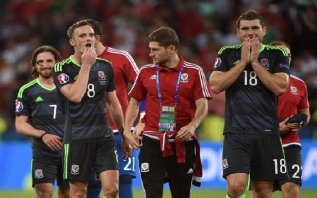 Joe Allen's EUROs dream is over after Portugal beat Wales in the semi-final