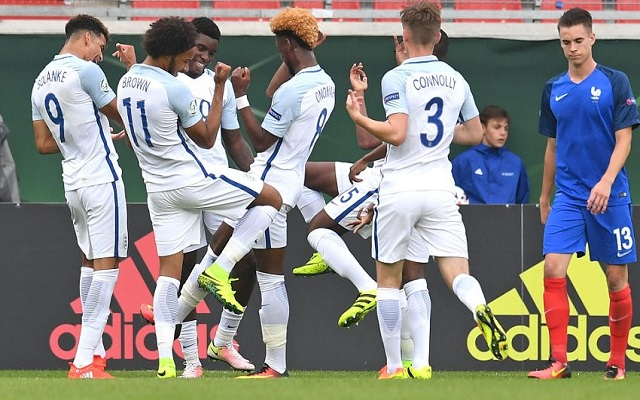 Sheyi Ojo bags third assist of the tournament as England U19s win again