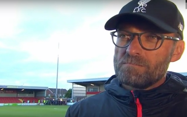 Klopp demands mutual respect at Anfield on Monday night