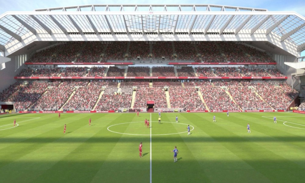 Images reveal first glimpse of new players' tunnel at Anfield
