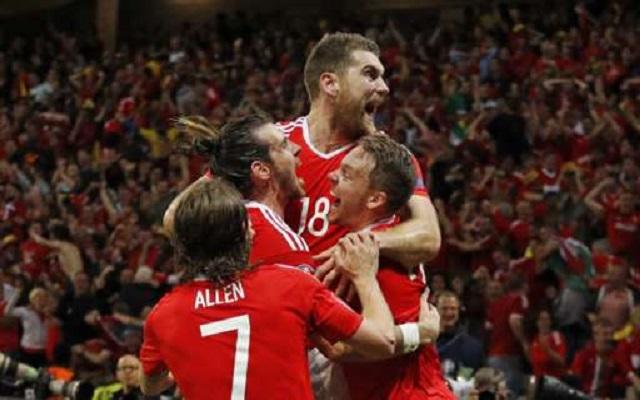 Wales and Joe Allen make history after stunning 3-1 win over Belgium
