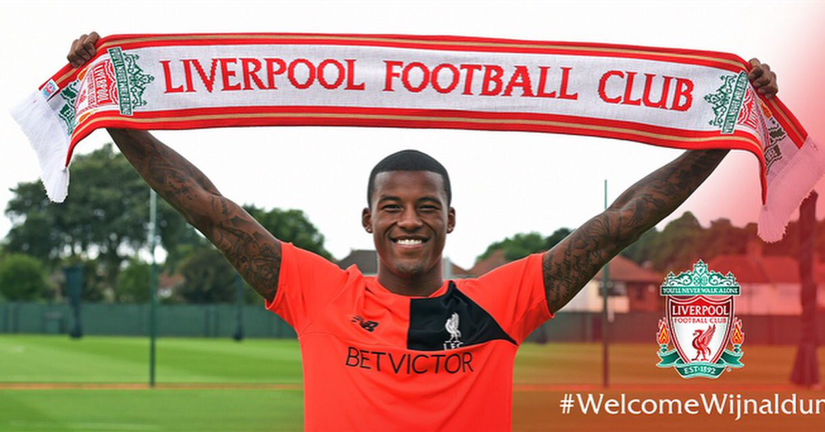 Klopp explains why he signed Gini Wijnaldum after Dutch international completes transfer