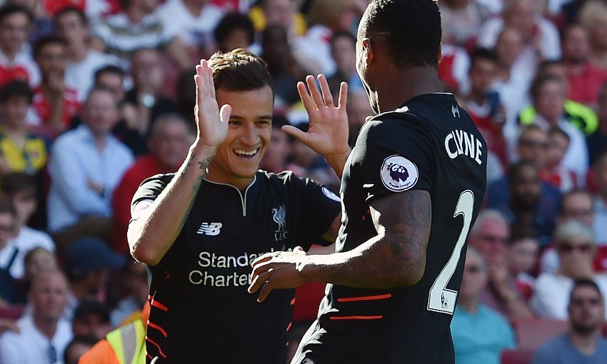 """Miss of the season!"" – Liverpool fans react to Coutinho's scuffed effort"