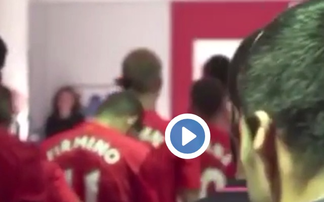 (Video) Suarez mocks Firmino for his top-knot hair-do in the tunnel
