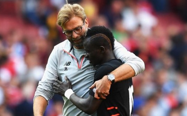 Sadio Mane taken to hospital for scans on training ground injury