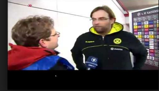 (Video) Archive footage shows Klopp refusing German interview for much funnier reason than S*n-gate