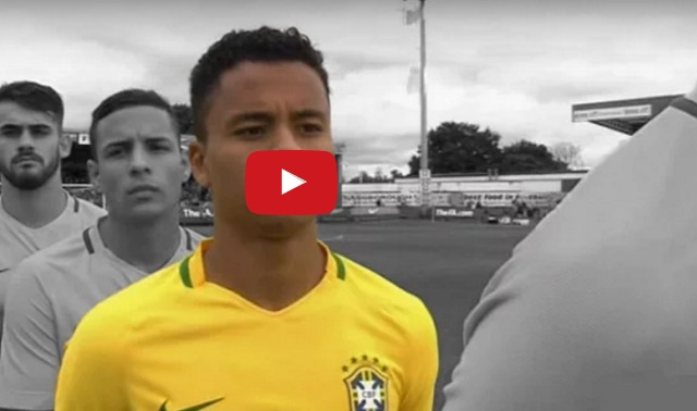 (Video) Allan Rodrigues highlights for Brazil v England, with LFC teenager in 'Pirlo-role'