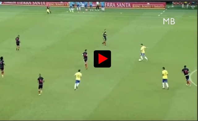 (Video) Watch highlights of Coutinho's magic 24 minutes for Brazil v Colombia