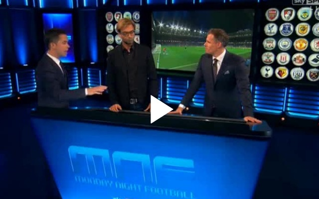 (Video) Jurgen Klopp on MNF: Liverpool boss expertly explains why positions aren't important