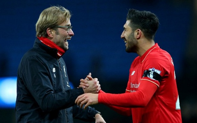 Klopp told Emre Can he's wanted to sign this defender for years