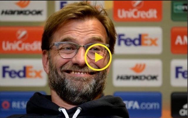 (Video) Liverpool's Press Officer b*llocks Jurgen for swearing; Klopp shrugs it off like school kid