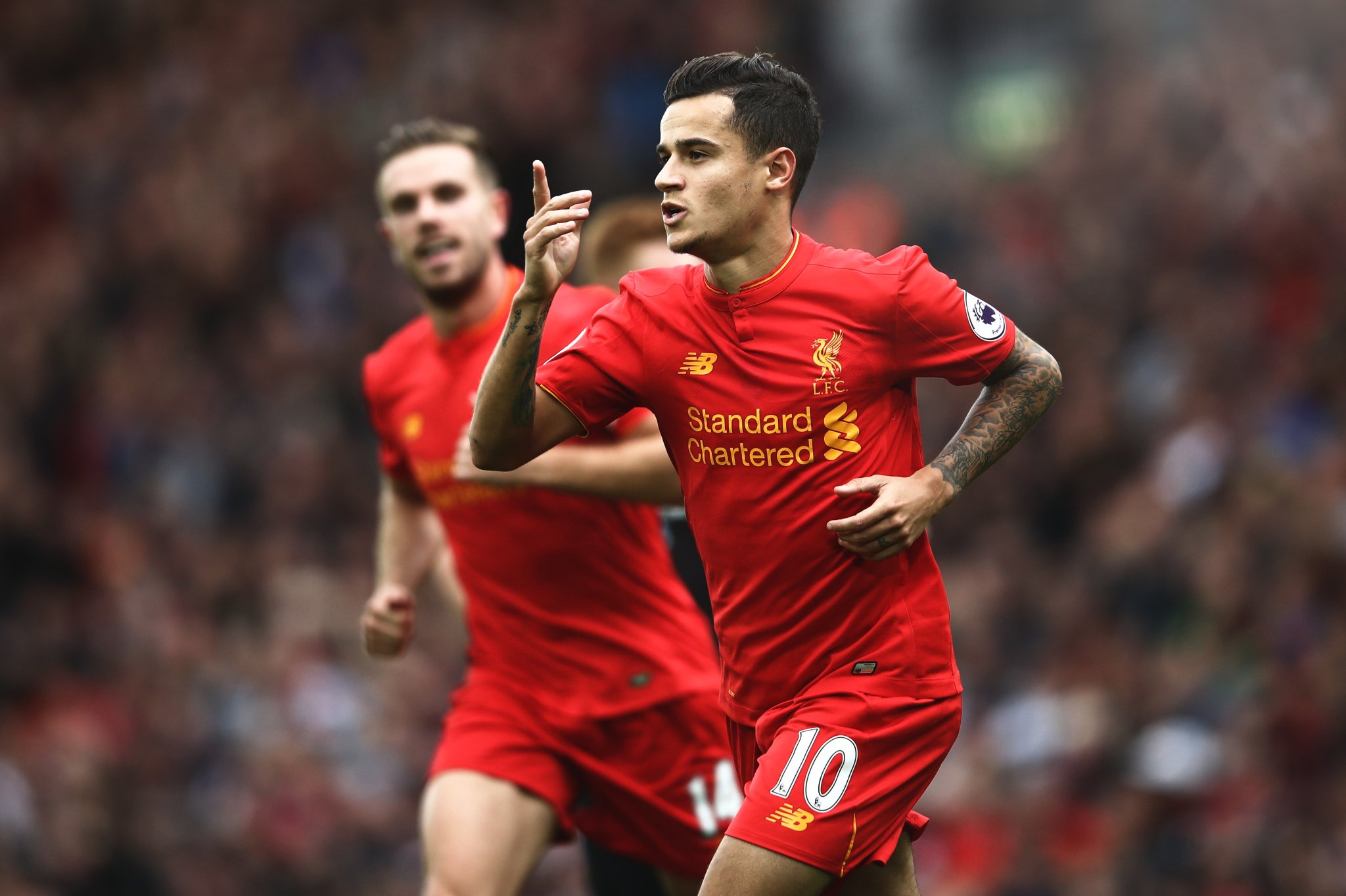 Stats suggest Liverpool's attack is just as good without Coutinho