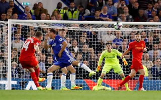 "Jordan Henderson stunner vs Chelsea claims ""Goal of the Month"" award"
