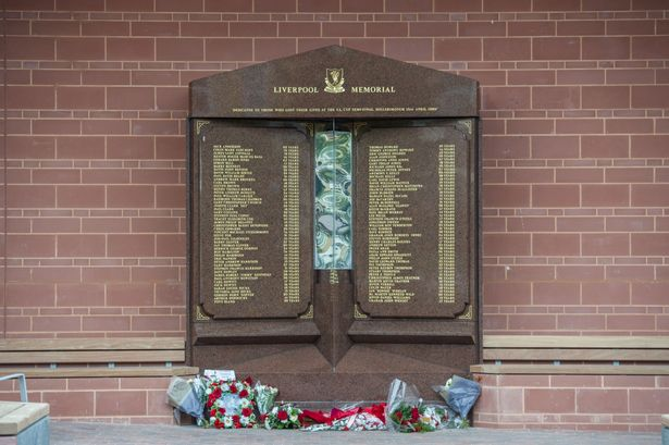Hillsborough Memorial reinstalled outside Anfield ahead of champions visit