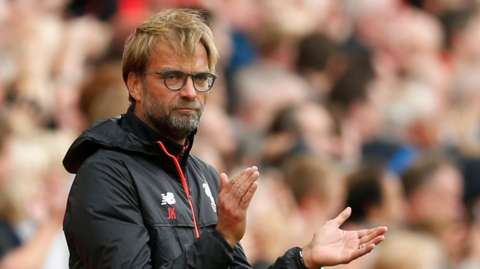 Klopp underscores his high standards as he claims the second half performance wasn't good enough