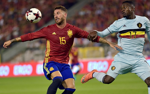 Divock Origi starts but fails to fire as Belgium lose to Spain in Brussels